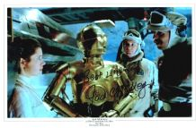 Jack McKenzie Autograph Signed Photo - The Empire Strikes Back